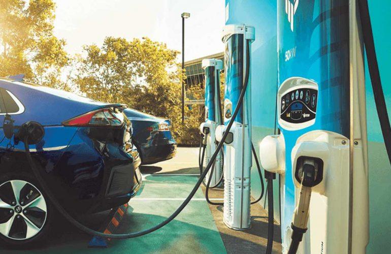 Tritium RT50 EV Charging